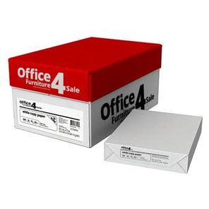 "Multi-Purpose Outlet, Legal Size, 8 1/2"" x 14"", White, 100-bright, 28-lb., 8-reams/4,000 sheets per case (Assorted Brands)"