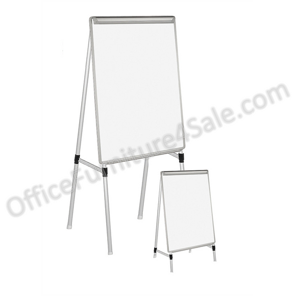 (Scratch & Dent) MasterVision Outlet Easy-Clean Dry-Erase Easel, 27