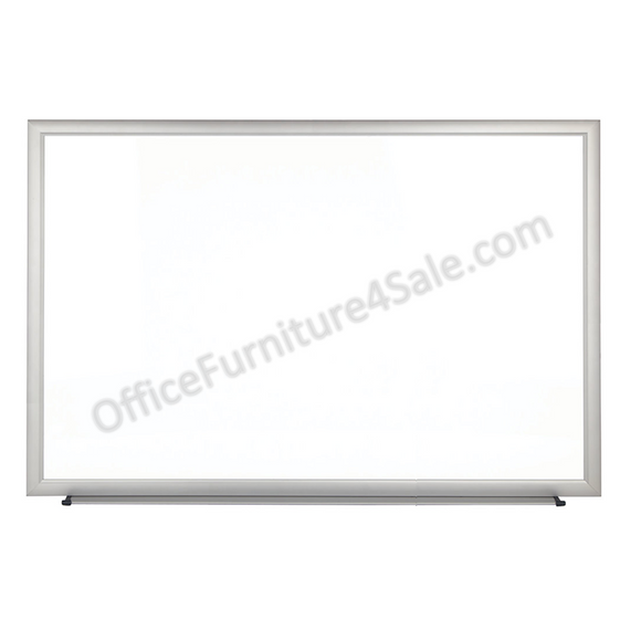FORAY Outlet Magnetic Dry-Erase Boards With Aluminum Frame, Melamine Board, 48