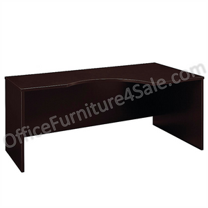 "Bush Business Furniture OUTLET Components Corner Desk Right Handed 72""W, Mocha Cherry"