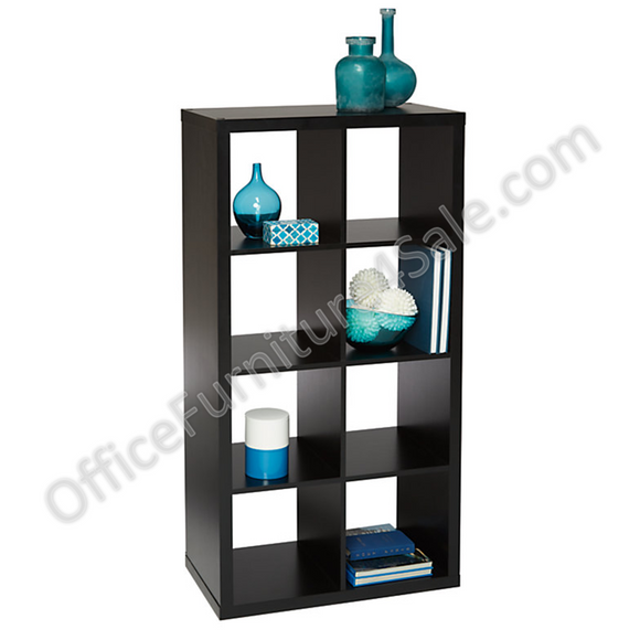 Brenton Outlet Studio 8-Cube Bookcase, 27.4
