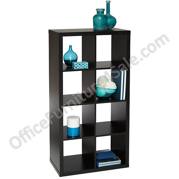 (Scratch and Dent) Brenton Outlet Studio 8-Cube Bookcase, 27.4