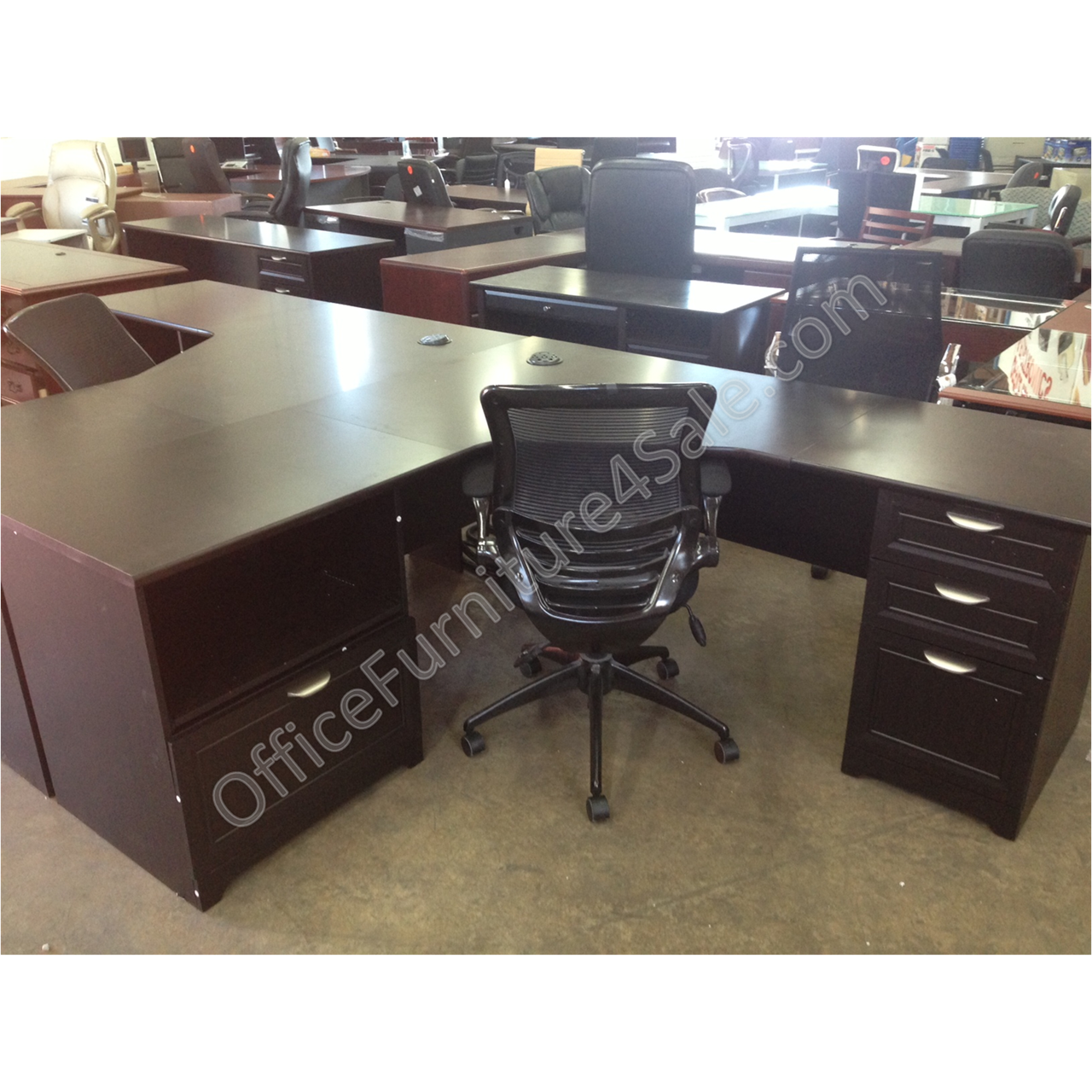 Realspace Magellan Performance Outlet L Desk 30 H X 70 9 10 W X 23