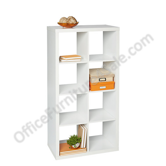 Brenton Studio Outlet Cube Bookcase, 8-Cube, 52 3/9