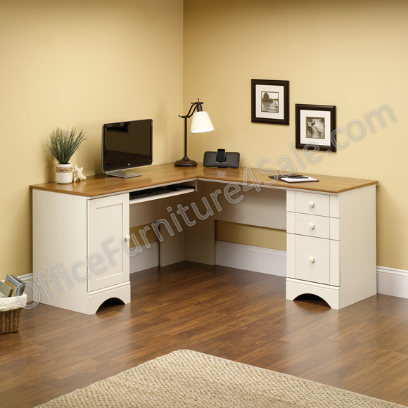 Sauder Outlet Harbor View Collection Corner Computer Desk, 30 1/4