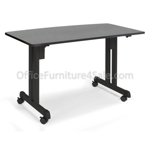 "OFM Outlet Modular Utility Table, 27 1/2""H x 48""W x 24""D, Graphite"