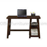 "Whalen Outlet Triton Desk, 30""H x 48""W x 24""D, Walnut"