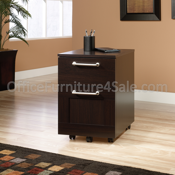Sauder Town Outlet Collection 2-Drawer Pedestal File, 23 1/4