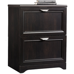 "(Scratch & Dent) Realspace Outlet Magellan Collection 2-Drawer Lateral File Cabinet, 30""H x 23 1/2""W x 16 1/2""D, Espresso"