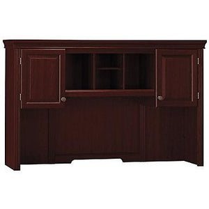 "Bush Outlet Bennington Credenza Hutch, 41 1/4""H x 65 1/8""W x 12 3/4""D, Harvest Cherry"