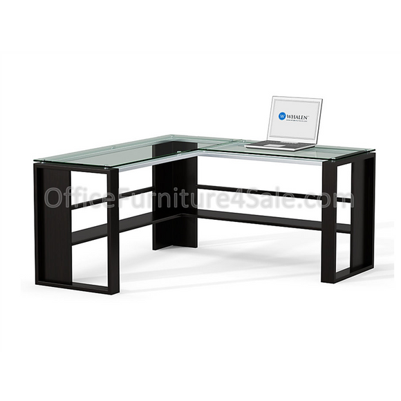 (Scratch & Dent) Whalen Jasper Outlet L-Desk, 30