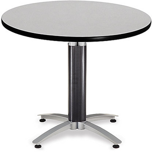 "OFM Outlet Multipurpose Table, 29 1/2""H x 36""W x 36""D, Gray"