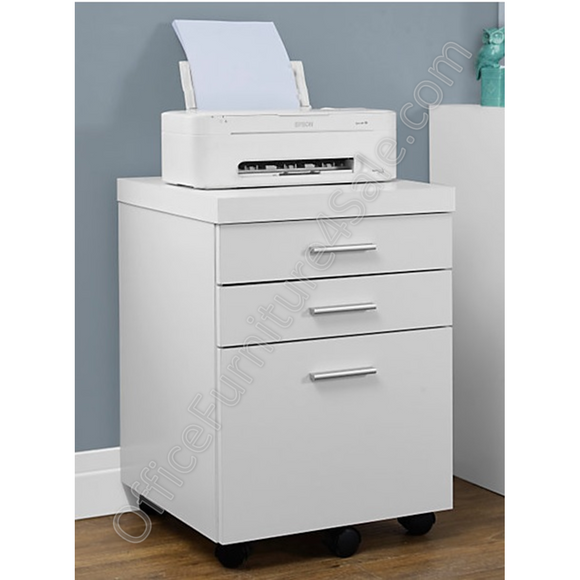 Monarch Outlet Specialties Filing Cabinet, 3 Drawers, 26
