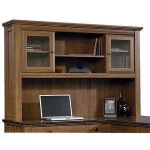 "Sauder Outlet Appleton Collection, Hutch For L Desk, 38 1/4""H x 59""W x 13 7/16""D, Sand Pear"