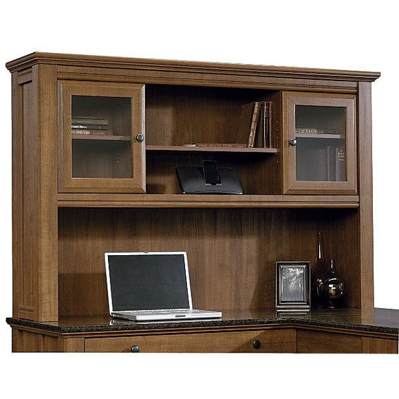 Sauder Outlet Appleton Collection, Hutch For L Desk, Sand Pear