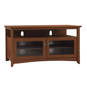 Bush Furniture Buena Vista TV Stand, Serene Cherry