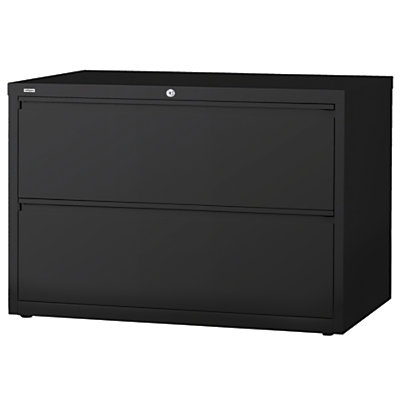 (Scratch & Dent) WorkPro Outlet Steel Lateral File, 2-Drawer, 28