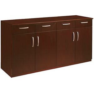 "Mayline Group Outlet Buffet Credenza, 36""H x 72""W x 22""D, Sierra Cherry"