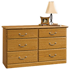 Sauder Outlet Orchard Hills 6-Drawer Dresser, 30 1/8
