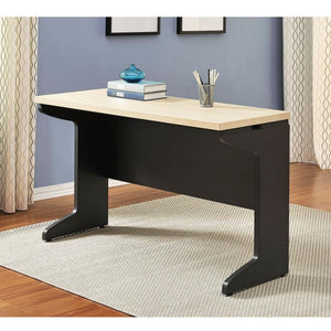 Ameriwood Altra Pursuit Outlet Work Table, Gray/Natural