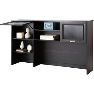 "(Scratch & Dent) Realspace Magellan Collection Hutch, 33 5/8""H x 58 1/8""W x 11 5/8""D, Espresso, 101075"