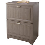 "(Scratch & Dent) Realspace Outlet Magellan Collection 2-Drawer Lateral File Cabinet, 30""H x 23 1/2""W x 16 1/2""D, Gray"