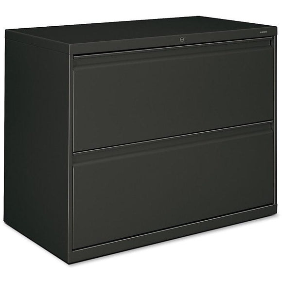 (Scratch and Dent) HON 800-Series Lateral File With Lock, 2 Drawers, 28