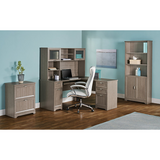 Realspace Outlet Magellan Collection Hutch, Gray