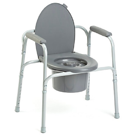 Invacare Outlet All-In-One Aluminum Commode, 36