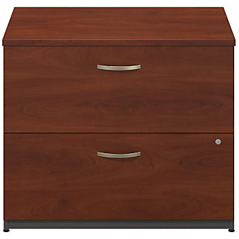 (Scratch & Dent) Bush Business Furniture Outlet Components 2 Drawer Lateral File Cabinet, 36