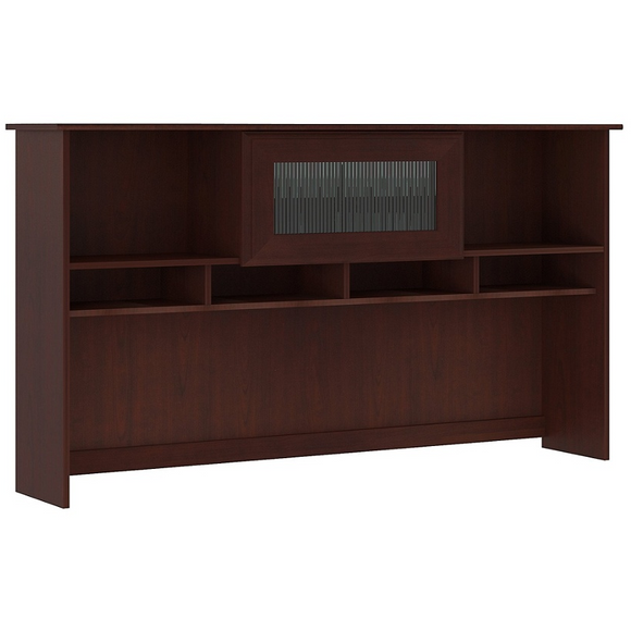 Bush Furniture Outlet Cabot 60W Hutch, Harvest Cherry