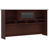 "Bush Furniture Outlet Cabot 60""W Hutch, Harvest Cherry"