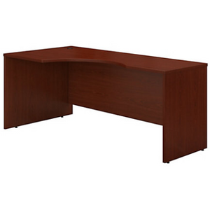 "Bush Business Furniture Components Corner Desk Left Handed 72""W, Mahogany, Standard Delivery Item # 736808"