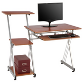 (Scratch & Dent) Brenton Studio Limble Computer Desk, Cherry