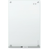 "(Scratch & Dent) Quartet Infinity Magnetic White Glass Dry-Erase Board, 72"" x 48"" Item # 191027"