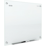 "Quartet Infinity Magnetic White Glass Dry-Erase Board, 72"" x 48"" Item # 191027"