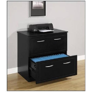 Altra Chadwick Collection Lateral File, Nightingale Black