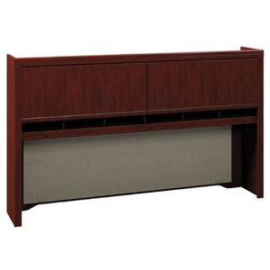 "Bush Business Furniture Enterprise Hutch, 72""W, Harvest Cherry, Standard Delivery Item # 587259"