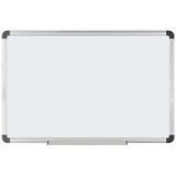 "(Scratch & Dent) FORAY Outlet Magnetic Dry-Erase Boards With Aluminum Frame, 36"" x 48"", White Board, Silver Frame"