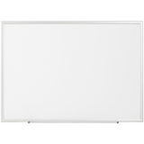 "(Scratch & Dent) FORAY Magnetic Dry-Erase Boards With Aluminum Frame, White Board, Silver Frame, 72"" x 48"" Item # 1257157"