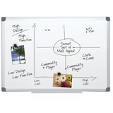 "FORAY Magnetic Dry-Erase Boards With Aluminum Frame, 24"" x 36"", White Board, Silver Frame Item # 951837"