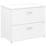 (Scratch & Dent) Bush Business Furniture Studio C Lateral File Cabinet, White