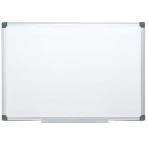 "(Scratch & Dent) FORAY Magnetic Dry-Erase Boards With Aluminum Frame, 24"" x 36"", White Board, Silver Frame Item # 951837"