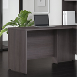 "Bush Business Furniture Studio C 42""W Desk Return, Storm Gray, Standard Delivery Item # 980455"