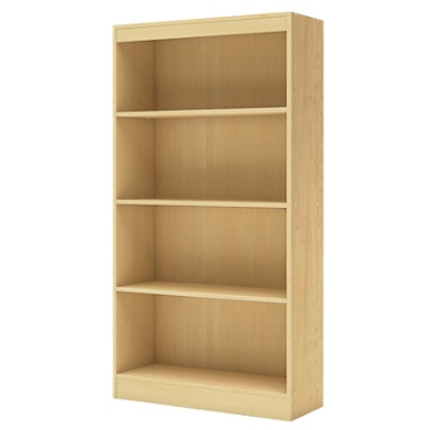 South Shore Axess 4-Shelf Bookcase, Natural Maple Item # 1998550