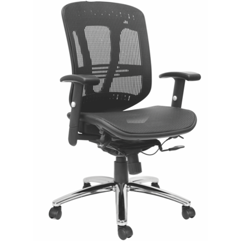 Zeus Multi-Function, Mesh Back and Mesh Seat