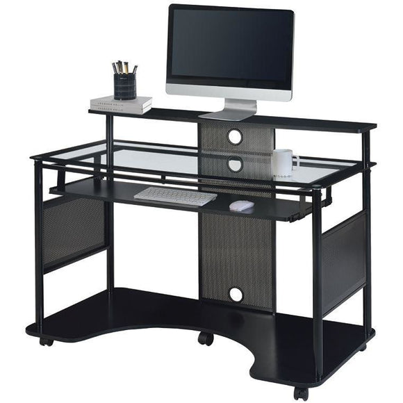 (Scratch and Dent) Z-Line Designs Outlet Mobile Workstation Desk, 36