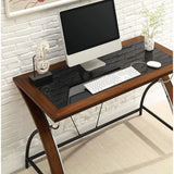 "(Scratch and Dent) Whalen Furniture Outlet Montreal Laptop Desk, 30""H x 47 3/4""W x 23 3/4""D, Cherry"