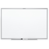 "Quartet Classic Series Dry-Erase Board With Aluminum Finish Frame, 24"" x 36"", White/Silver Item # 918961"