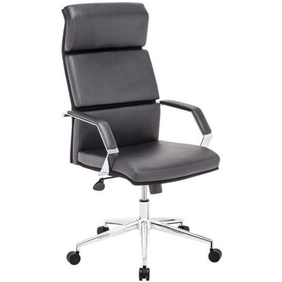 OfficePro High Segmented Back Executive Chair, Black